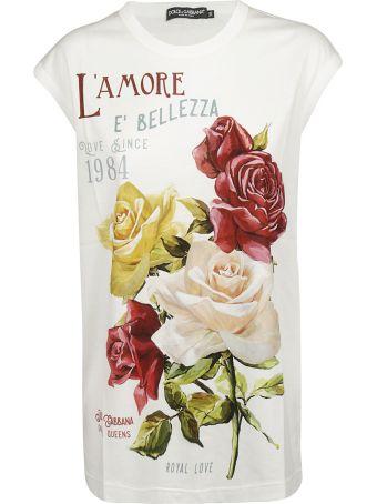 Dolce & Gabbana L'amore E'bellezza Printed T-shirt