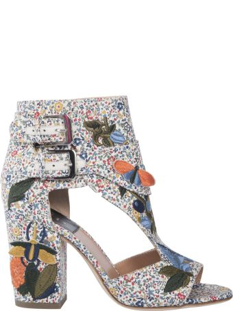 Laurence Dacade Embroidered Detail Sandals