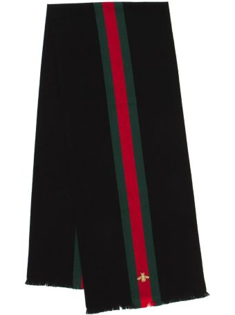 Gucci Web Wool Scarf