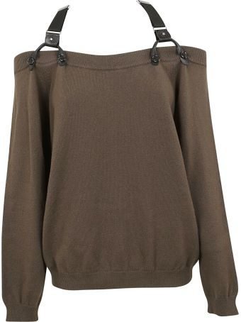 Moschino Harness Off-the-shoulder Top