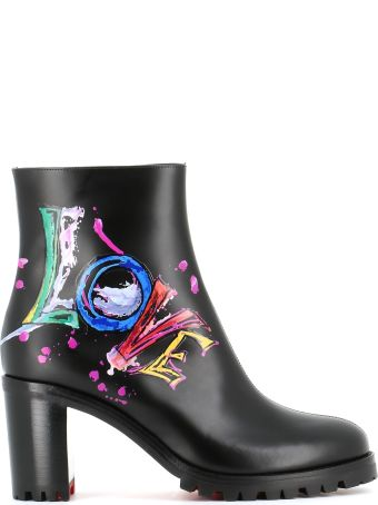"Christian Louboutin Ankle Boots ""love Me Boot"""