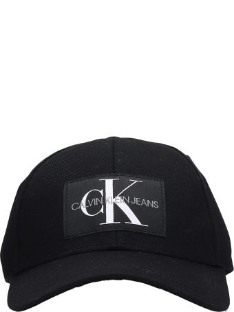 Calvin Klein Jeans Black Cotton Hat