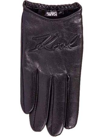 Karl Lagerfeld K/signature Gloves