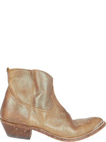 Golden Goose Western Side Zipped Ankle Boots