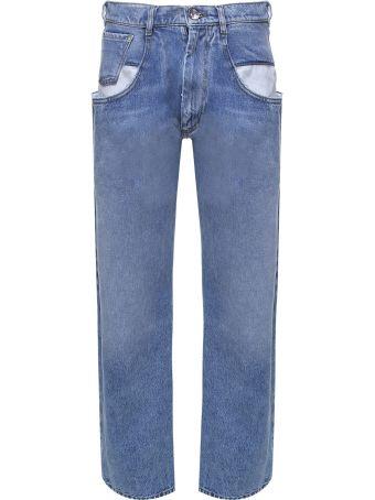 Maison Margiela Low-rise Cotton-denim Jeans