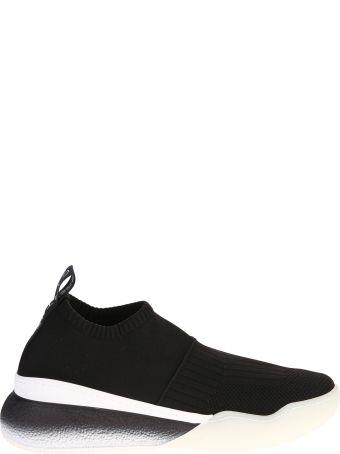 Stella McCartney Black Stretch Upper Sneakers