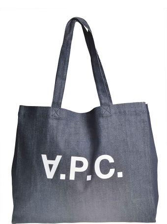 A.P.C. Logo Shopper Bag