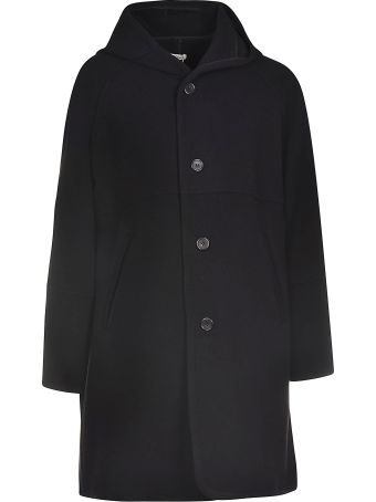 Our Legacy Buttoned Hooded Coat