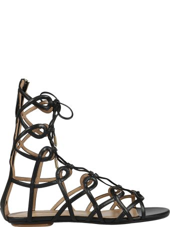Aquazzura Ankle Length Gladiator Sandals