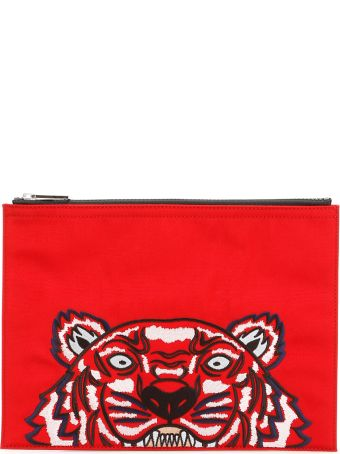 Kenzo Unisex Tiger Pouch