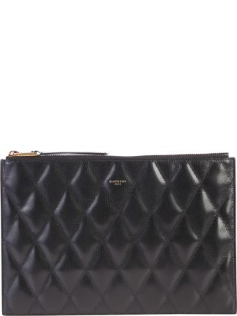 Givenchy Black Zipped Clutch