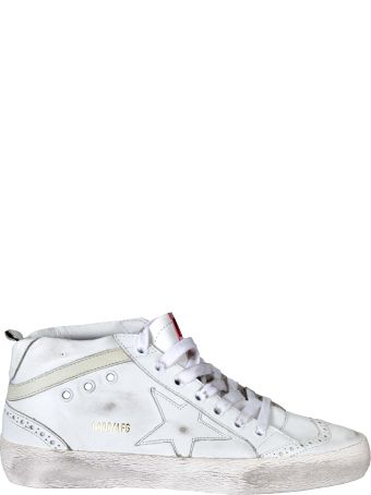 Golden Goose Deluxe Brand Mid Star Sneakers