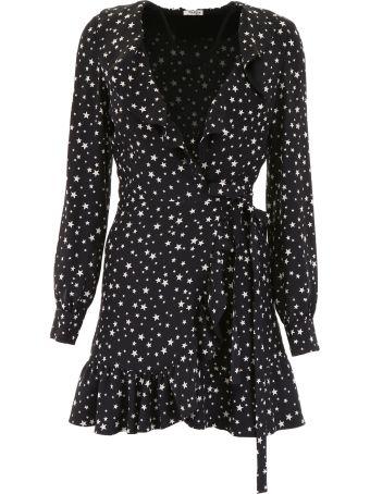Miu Miu Ruffled Mini Dress