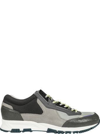 Lanvin Paneled Sneakers