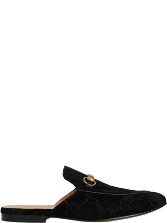 Gucci Kings Velvet Slipper