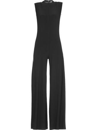 Norma Kamali Tech Fabric Jumpsuit