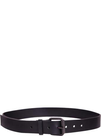 Haider Ackermann Black Leather Belt