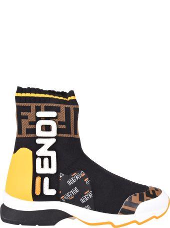 Fendi Fila Sock Sneakers