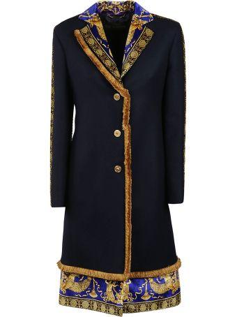 Versace Printed Coat