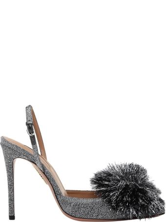 Aquazzura Silver Powder Puff
