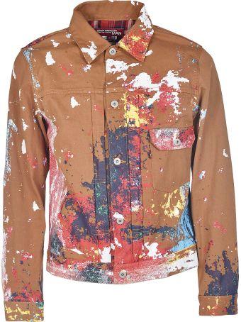Junya Watanabe Comme Des Garçons X Carhartt Paint Splatter Jacket