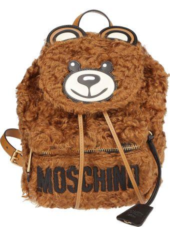 Moschino Teddy Bear Shearling Backpack