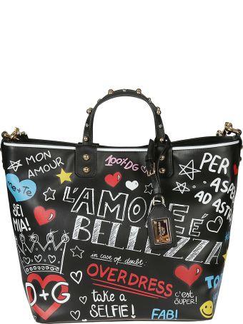Dolce & Gabbana Graffiti Tote Bag