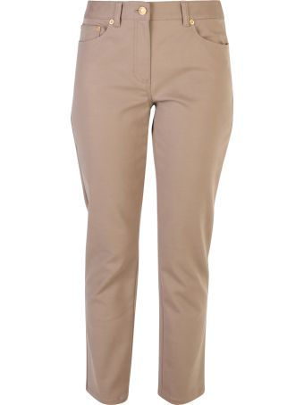 Tory Burch Brown Cropped Trousers