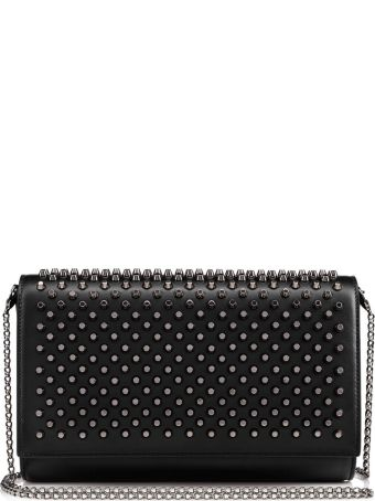 Christian Louboutin Paloma Black Clutch