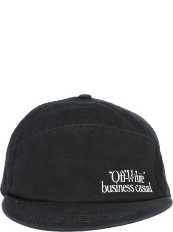Off-White Cotton Cap