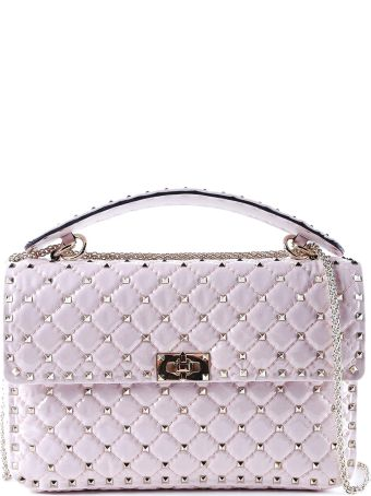 Valentino Garavani Large Shoulder Bag Rockstud Spike