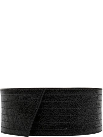 Givenchy Nappa Leather Bow Belt