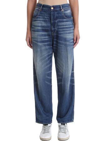 Golden Goose Kim Blue Denim Jeans