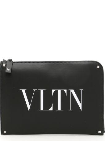 Valentino Logo Document Case