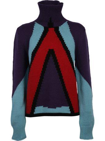 Bottega Veneta Geometric Panel Sweater