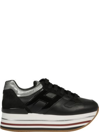 Hogan Paneled Platform Sneakers