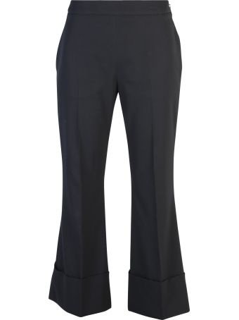 Stella McCartney Flared Wool Trousers