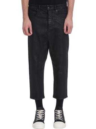 DRKSHDW Collapse Cut Black Denim Jeans