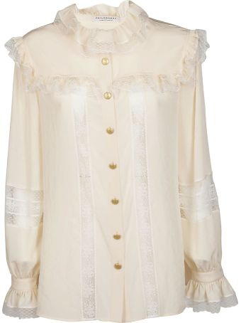 Philosophy di Lorenzo Serafini Philosophy Ruffled Blouse