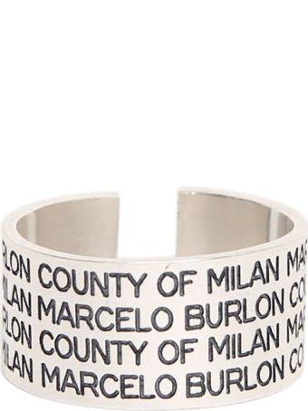 Marcelo Burlon Mbcm Ring