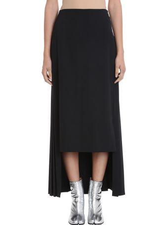 Maison Margiela Pleated Long Skirt