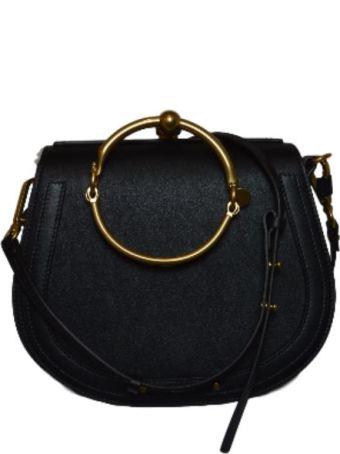 Chloé Nile Shoulder Bag With Brass Inserts