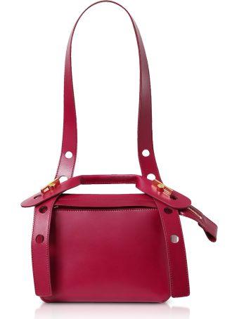 Sophie Hulme Soft Leather Bolt Saddle Bag