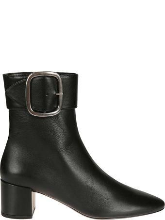 Saint Laurent Buckled Ankle Boots
