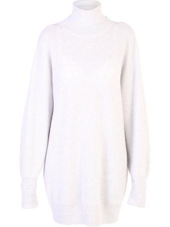 Maison Margiela Grey Oversized Sweater
