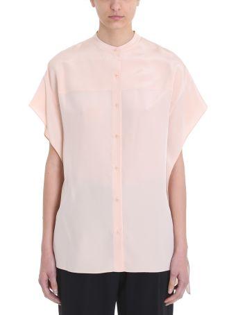 Diane Von Furstenberg Mao Collared Shirt