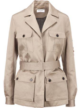 Saint Laurent Belted Jacket