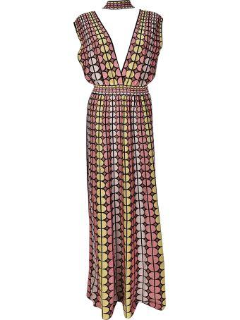 M Missoni Circle Print Dress