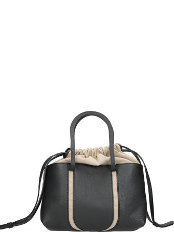Maison Margiela Black Calf Leather Bag
