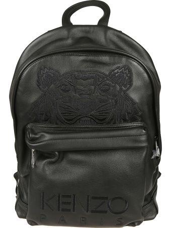 Kenzo Embroidered Tiger Logo Backpack